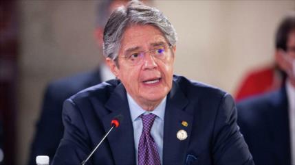 Presidente Lasso amenaza con disolver Parlamento de Ecuador