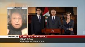 Bigio: Restablecimiento de nexos Venezuela-Perú beneficia a ambos