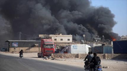 Vídeo: Ataque sirio mata a terroristas y militares turcos en Idlib
