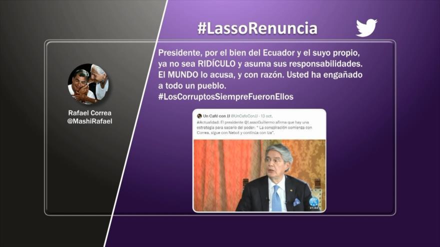 Etiquetaje: Piden la renuncia de Guillermo Lasso