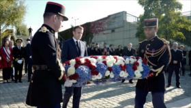 Confesión tardía: Macron reconoce masacre de argelinos por Francia