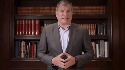 Correa responde a las declaraciones de Guillermo Lasso