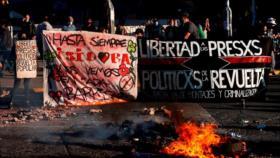 """Chilenos marchan en vísperas del """"estallido social"""""""