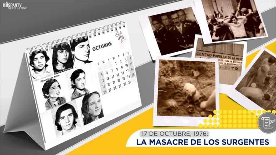Esta semana en la historia: La masacre de los surgentes
