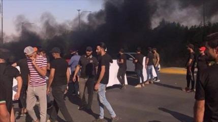 Protestan en varios puntos de Irak y retan resultados electorales