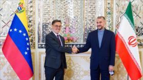 """Irán y Venezuela abogan por estrechar sus lazos """"estratégicos"""""""