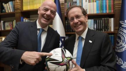 ONG critica el uso de FIFA para encubrir crímenes de Israel