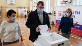 Rusia afea ataques de Washington, Berlín y Kiev en comicios de Duma