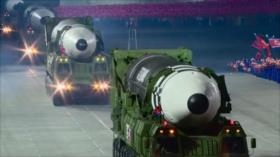 Pyongyang saluda con ensayo de misiles cita Washington-Seúl-Tokio