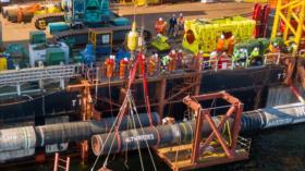 Ya está lista 1.ª fase de Nord Stream 2, ante ojos furiosos de EEUU