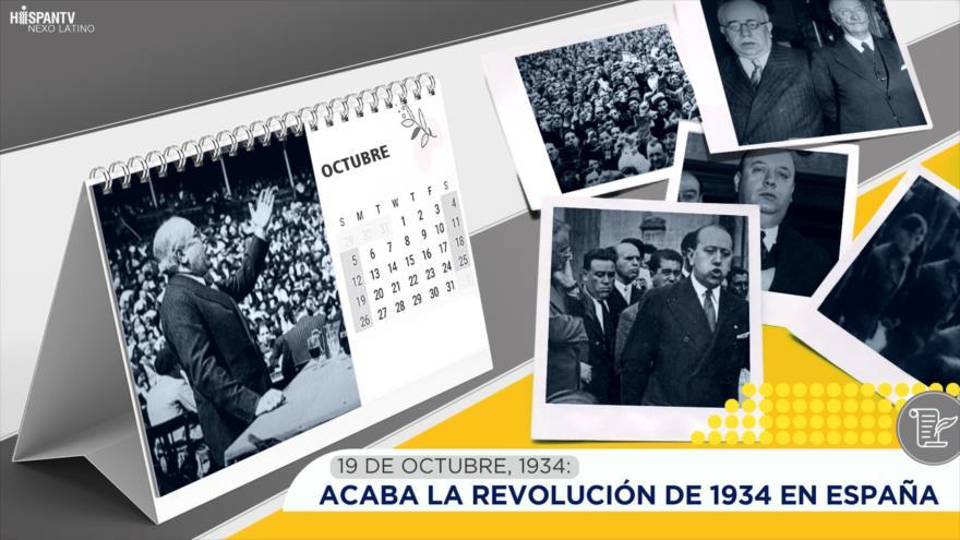 Esta semana en la historia: Acaba la Revolución de 1934 en España
