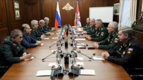 Jefes militares de Rusia e Irán abogan por cooperar sobre Afganistán