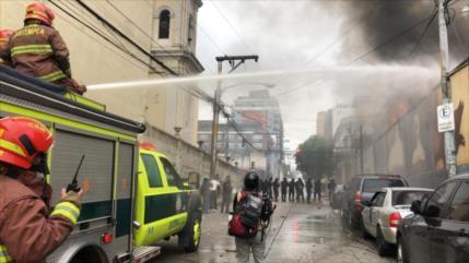 Denuncia secuestro del Congreso de Guatemala por exmilitares
