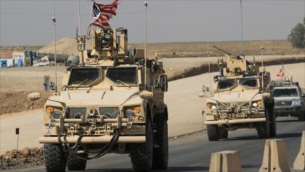 Vídeo: Sirios interceptan convoy de EEUU y lo obligan a retirarse