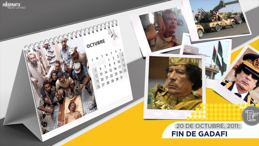 Esta semana en la historia: Fin de Gadafi