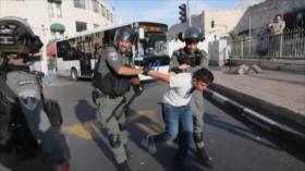 Decenas de palestinos heridos en otro episodio de violencia israelí
