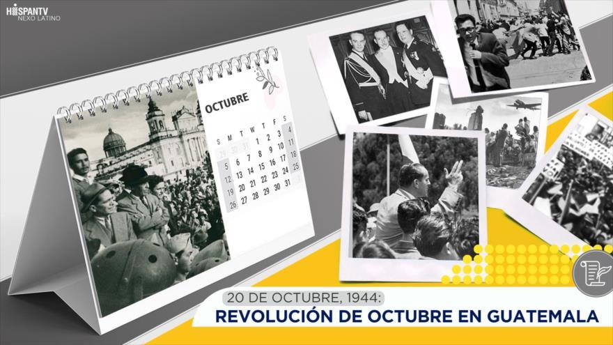 Esta semana en la historia: Revolución de octubre en Guatemala