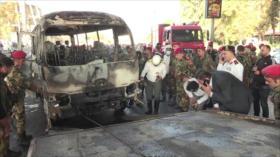 Grupos de Resistencia condenan ataque terrorista en Damasco