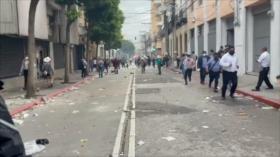 Atribuyen incendio en el Congreso de Guatemala a veteranos de guerra