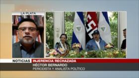 """Bernardo: """"La OEA es un simple peón de EEUU en la región"""""""