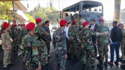 Siria condena ataque a militares: nunca renunciaremos a la lucha