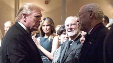 Trump critica 'bella' cobertura de Colin Powell y sus 'errores' en Irak