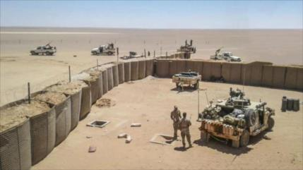 Dron lanza misiles contra tropas de EEUU en base Al-Tanf en Siria