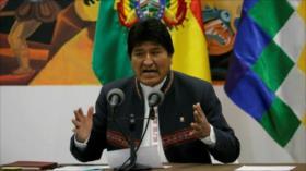 Morales: golpistas intentaron desconocer voto de pueblo en 2019