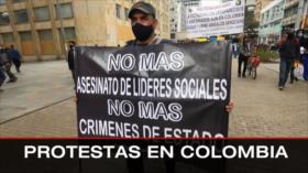 Ataque contra base de EEUU. Imputan a Bolsonaro. Protestas en Colombia - Boletín: 1:30 - 21/10/2021