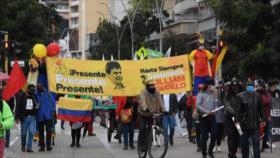 Colombianos vuelven a las calles en nueva jornada de protestas
