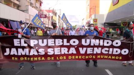 El Pueblo Unido sale a las calles de la Ciudad de Panamá