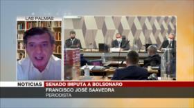 Saavedra: Solo las urnas decidirán si Bolsonaro seguirá en el poder