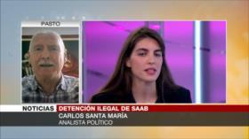 Santa María: UE, esbirra de EEUU, sigue callada sobre caso Saab