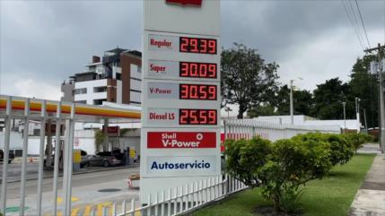 Los precios de los combustibles continúan al alza en Guatemala