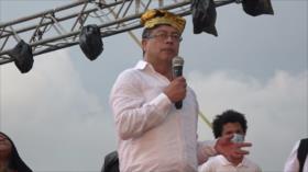 Candidato de la izquierda colombiana comienza campaña a la presidencia