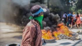 Haitianos protestan contra escasez de combustible en Puerto Príncipe