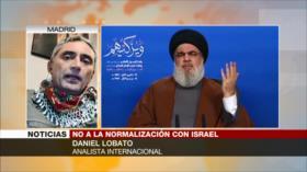 Lobato: Israel es el principal enemigo de musulmanes y cristianos