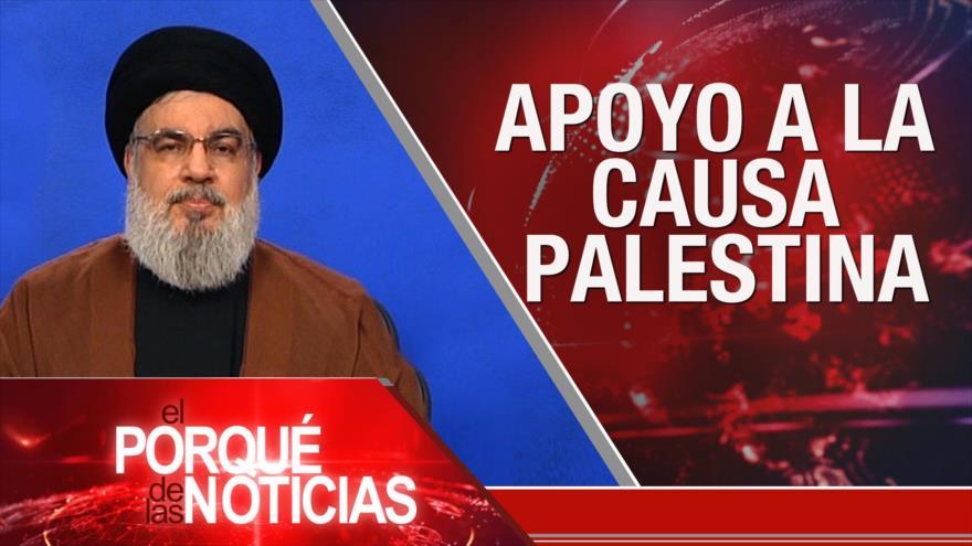 El Porqué de las Noticias: Apoyo a la Causa palestina. Tensión EEUU-China. Golpe de Estado en Bolivia