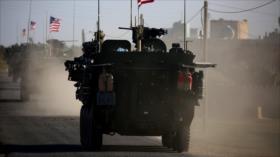 Vídeo: Ejército sirio impide paso de convoy de EEUU en Al-Hasaka