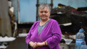 Mujer vivió 3 décadas en un contenedor metálico sin calefacción