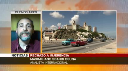 Sbarbi Osuna: EEUU financia actividades subversivas contra Cuba