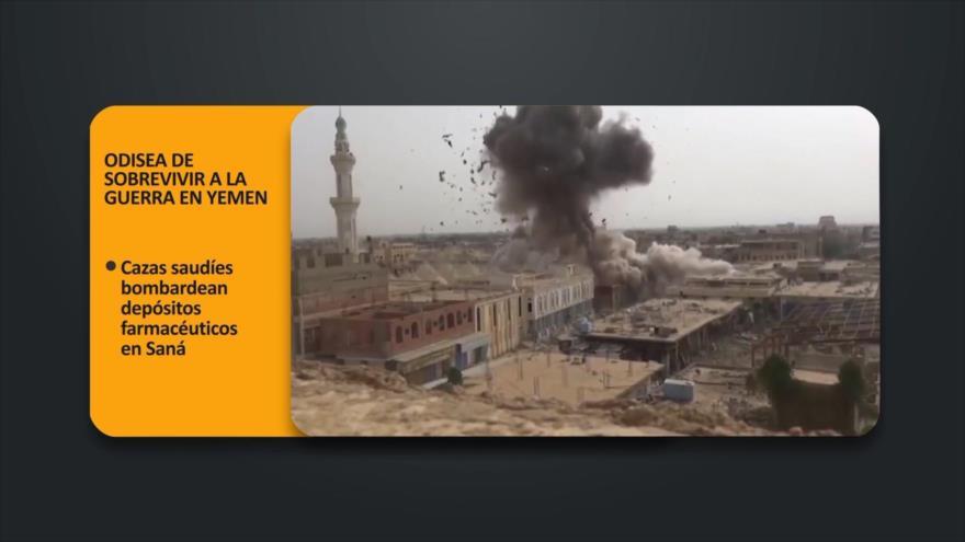 PoliMedios: Odisea de sobrevivir a la guerra en Yemen