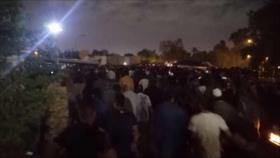 Iraquíes protestan por 'fraude electoral' cerca de embajada de EEUU