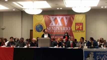 Concluye seminario de líderes de izquierda de América Latina