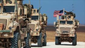 Ejército sirio bloquea paso de convoy de EEUU en Al-Hasaka