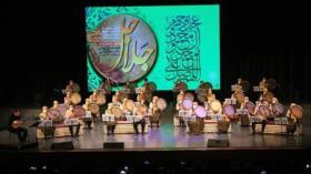 Clausura de VIII Festival Internacional de Solistas de Daf en Irán