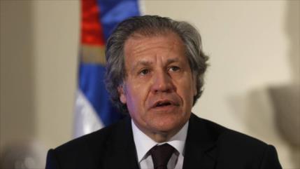 Morales: Almagro admitió su culpa en golpe de Estado de 2019