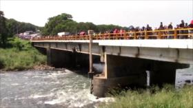 Migrantes de Centroamérica y Haití rumbo a la capital mexicana