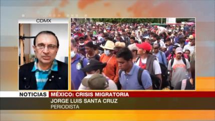 Santa Cruz: Ola de migrantes, problema mayúsculo para México