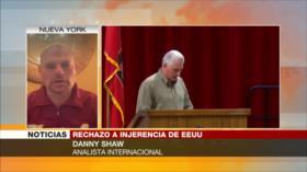 Shaw: Las marchas son 'caballo de Troya' de EEUU dentro de Cuba